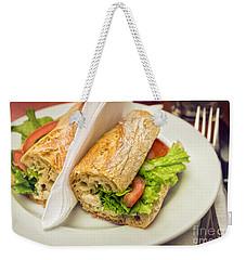 Sandwish On Table Weekender Tote Bag