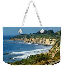 Santa Barbara Coast Weekender Tote Bag by Ernie Echols