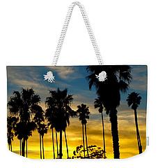 Santa Barbara Sunset Weekender Tote Bag