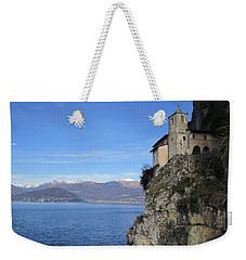 Weekender Tote Bag featuring the photograph Santa Caterina - Lago Maggiore by Travel Pics