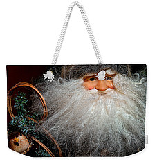 Santa Claus Weekender Tote Bag by Christopher Holmes