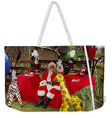 Santa Clausewith The Animals Weekender Tote Bag