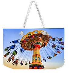 Santa Cruz Seaswing At Sunset 6 Painterly Weekender Tote Bag