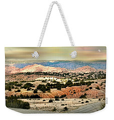 A Girl From New York Weekender Tote Bag