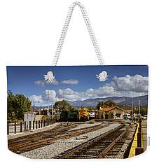 Santa Fe Rail Road Weekender Tote Bag