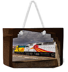 Santa Fe Train Weekender Tote Bag