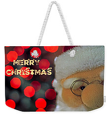 Santa  Weekender Tote Bag by Spikey Mouse Photography