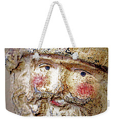 Weekender Tote Bag featuring the photograph Santa by Lynn Sprowl
