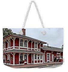 Weekender Tote Bag featuring the photograph Santa Paula Station by Michael Gordon