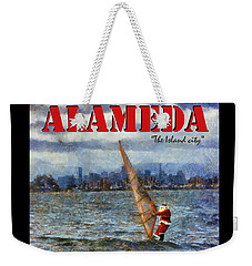 Alameda Santa's Greetings Weekender Tote Bag