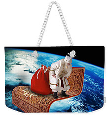 Santa's Flying Carpet Weekender Tote Bag