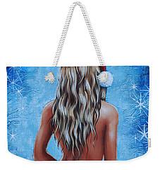 Santa's Helper Weekender Tote Bag