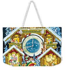 Santas Workshop Cuckoo Clock Weekender Tote Bag