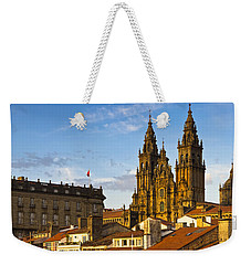 Weekender Tote Bag featuring the photograph Santiago De Compostela Cathedral Galicia Spain by Pablo Avanzini