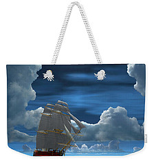 Santisima Trinida In The Moonlight 2 Weekender Tote Bag