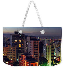 Sao Paulo Downtown At Dusk Weekender Tote Bag
