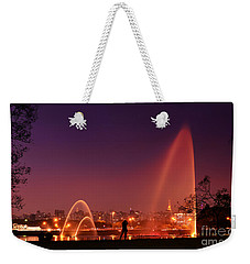 Sao Paulo - Ibirapuera Park At Dusk - Contemplation Weekender Tote Bag