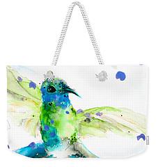 Sapphire Weekender Tote Bag by Dawn Derman