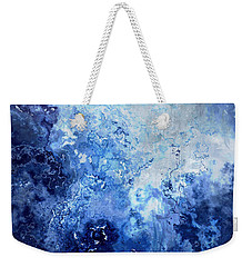 Sapphire Dream - Abstract Art Weekender Tote Bag by Jaison Cianelli