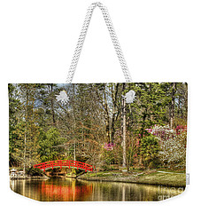 Sarah P. Duke Gardens Weekender Tote Bag by Benanne Stiens