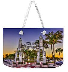 Sarasota Bayfront Weekender Tote Bag by Marvin Spates
