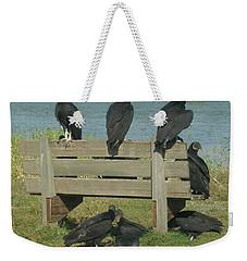 Sarasota Vultures Weekender Tote Bag by Emmy Marie Vickers