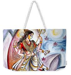 Saraswati Weekender Tote Bag by Harsh Malik