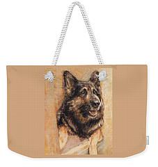 Sasha German Shepherd Weekender Tote Bag
