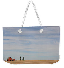 Weekender Tote Bag featuring the photograph Saskatchewan by Betty-Anne McDonald
