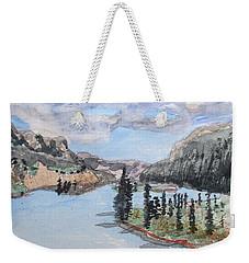Saskatchewan River Crossing - Icefields Parkway Weekender Tote Bag