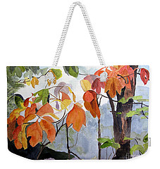 Sassafras Trees On The Ridge Weekender Tote Bag