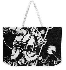 Satan Santa Weekender Tote Bag