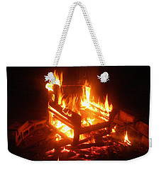 Weekender Tote Bag featuring the photograph Satan's Arm Chair by Shana Rowe Jackson