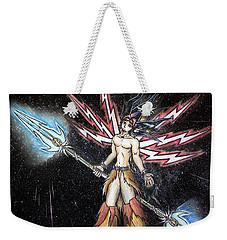 Satari God Of War And Battles Weekender Tote Bag