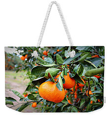 Satsumas Weekender Tote Bag