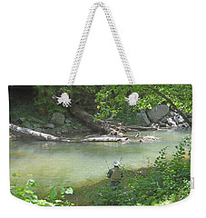 Weekender Tote Bag featuring the photograph Saturday Afternoon by Judith Morris