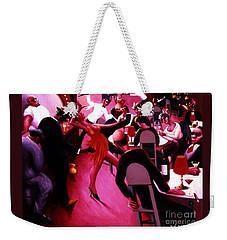 Saturday Night Weekender Tote Bag