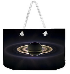 Saturn Weekender Tote Bag by Adam Romanowicz