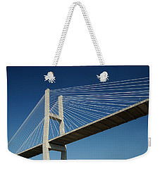 Savannah River Bridge Georgia Usa Weekender Tote Bag