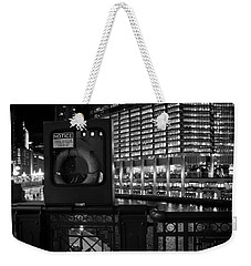 Save A Life On The River Weekender Tote Bag