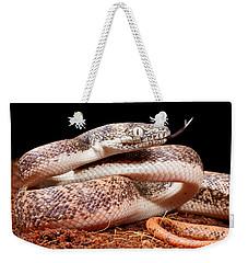 Savu Python In Defensive Posture Weekender Tote Bag