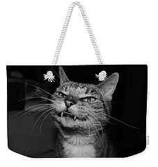 Say Cheese Weekender Tote Bag by Catie Canetti