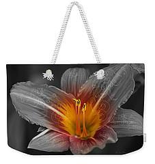 Say Something Weekender Tote Bag