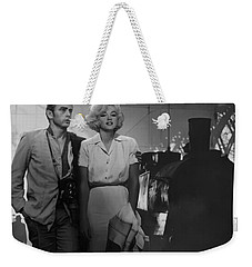 Saying Farewell Weekender Tote Bag by Chris Consani