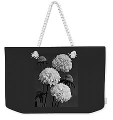 Scabiosa Peace Flowers Weekender Tote Bag