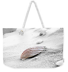 Weekender Tote Bag featuring the photograph Scallop Shell by Robert Meanor