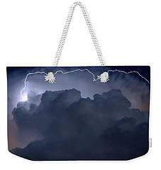 Weekender Tote Bag featuring the photograph Scalloped Edge by Charlotte Schafer