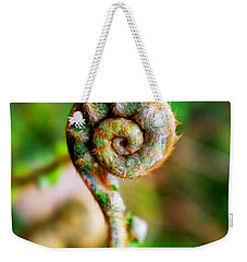 Scaly Male Fern Frond Weekender Tote Bag by Fabrizio Troiani