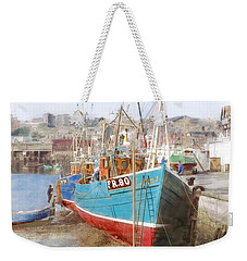 Scarborough Harbour Weekender Tote Bag