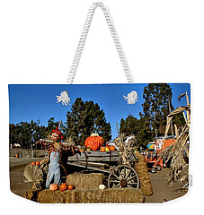 Weekender Tote Bag featuring the photograph Scare Crow by Michael Gordon
